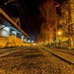 campos linha de trem