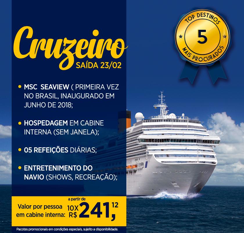 Top 5 - Cruzeiros