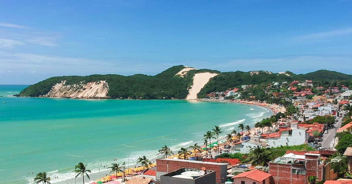 Praia em Rio Grande do Norte